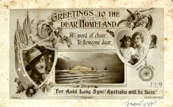 Postcard written by Thomas Kennedy Irwin Snr