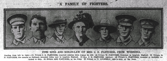 A family of fighters