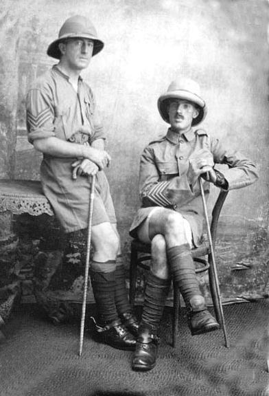Charles Vivian Ziems and unknown soldier