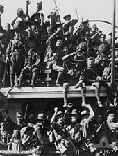 Embarkation of the Australian Naval and Military Expeditionary Force in Sydney.