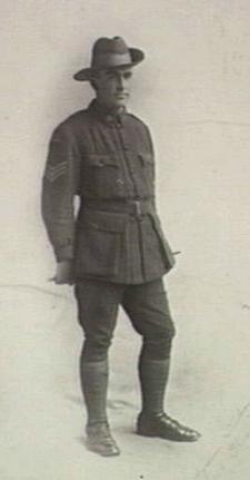Sergeant  Walter Farquharson