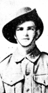 Private Joseph Thomas Cooper.