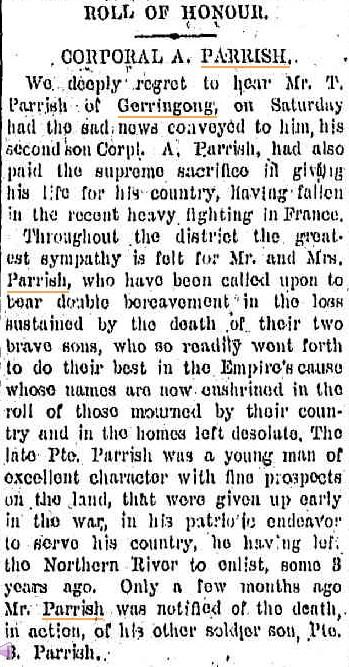 Kiama Independent. 19 June 1918.