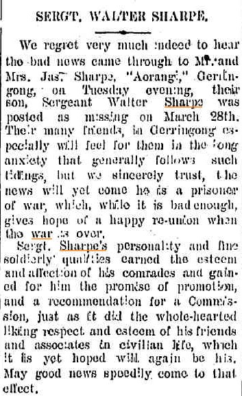 Kiama Independent. 13 April 1918