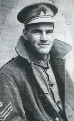 Sergeant Wallace Sharpe. SN 2377