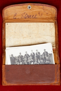 Ted's army issued wallet.