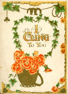 """I Cling To You"" Card fromg 'Jack to Cis.'"