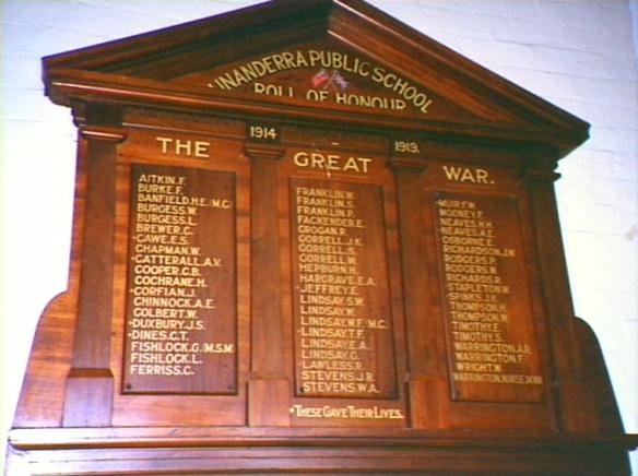 Unanderra Honour Roll
