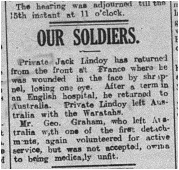 December 5, 1916. Illawarra Mercury.