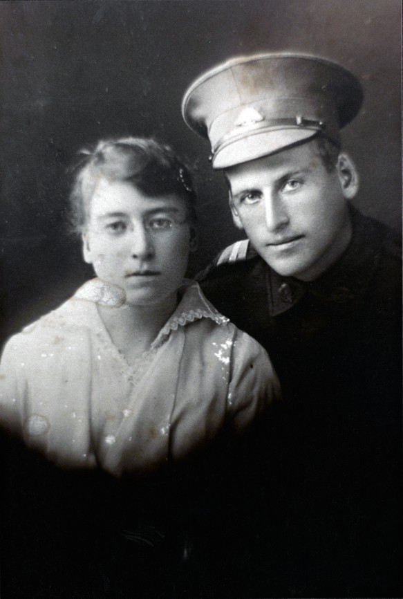Robert and his sister, Mary Best.