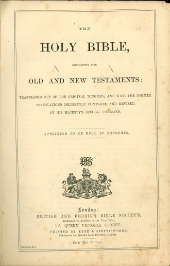 Family Bible (1803)