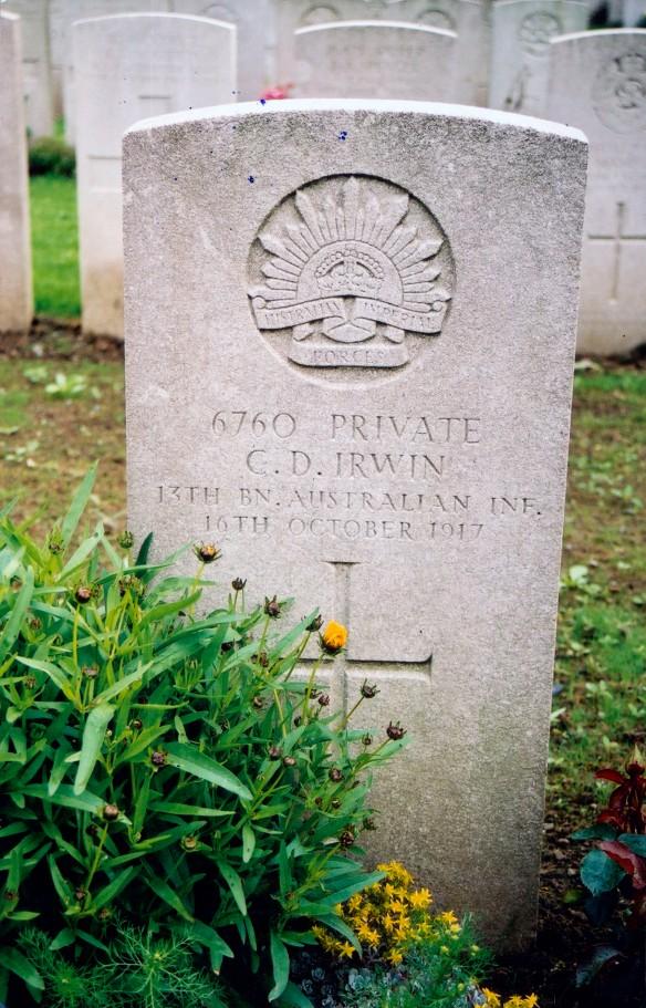 Grave of Charles Duff Irwin